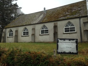 Lairg Church side