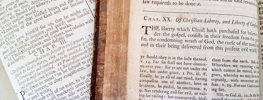 The Westminster Confession of Faith Chapter 20 - Of Christian Liberty and Liberty of Conscience