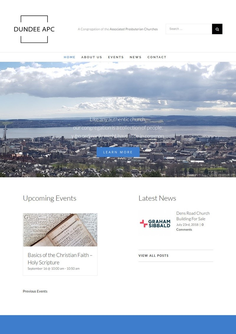 www.dundee.church | Dundee Associated Presbyterian Church Website